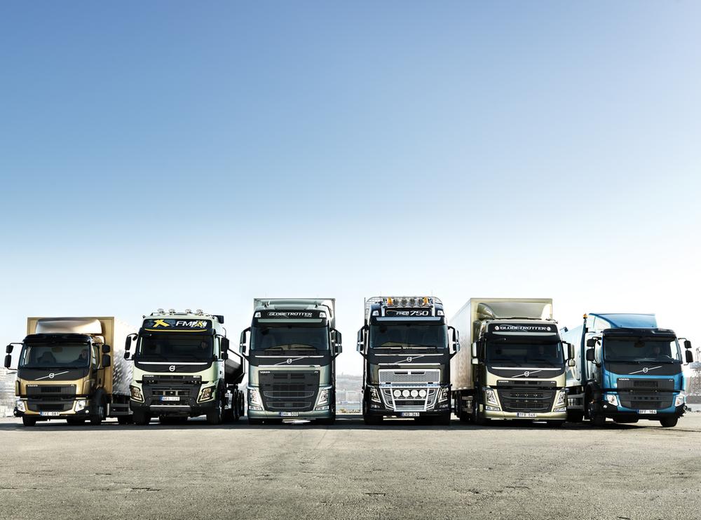 грузовики вольво 2013