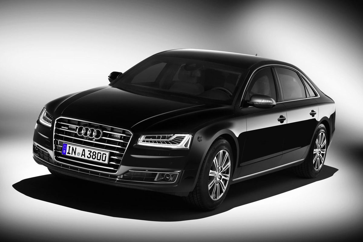 Новый Audi A8 L Security