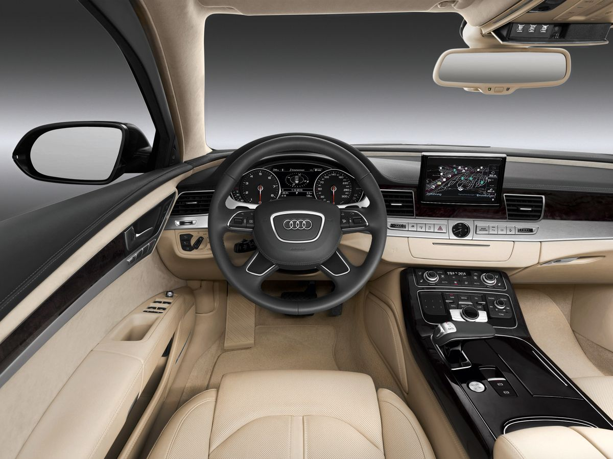 Интерьер Audi A8 L Security