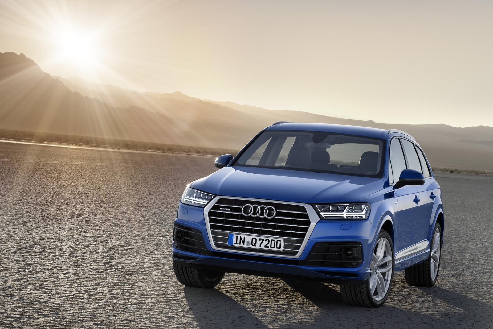 Новый Audi Q7: спортивный характер, передовые технологии, комфорт премиум-класса