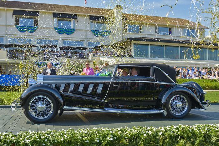 Автомобильная красота в Pebble-Beach: классика и экзотика суперкаров