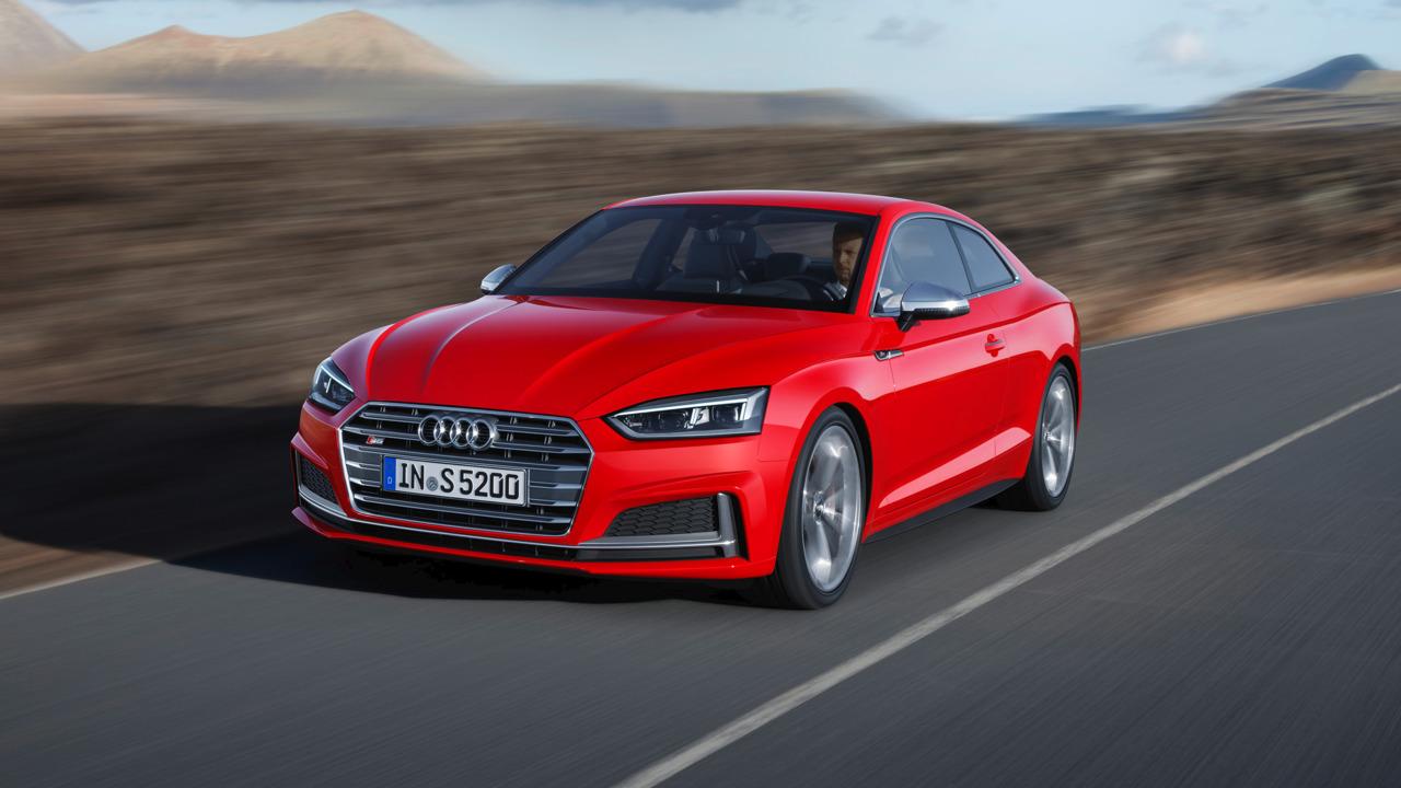 Audi представляет купе Audi A5 иS5 нового поколения