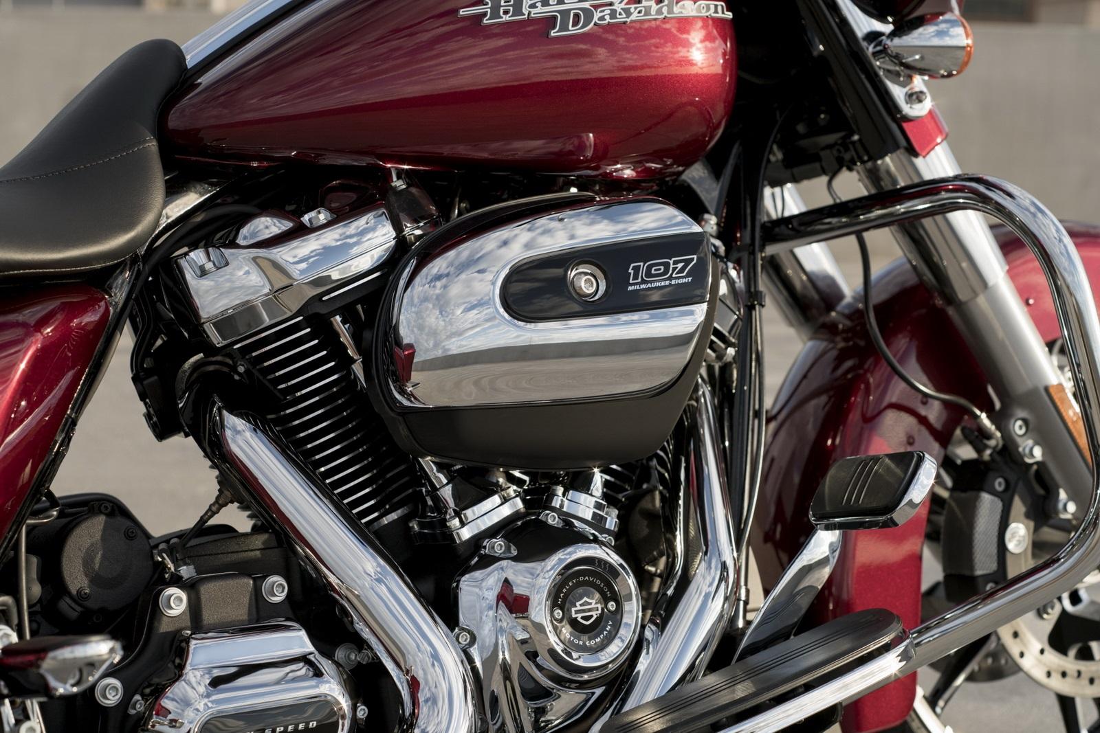 Абсолютно новый двигатель Harley-Davidson