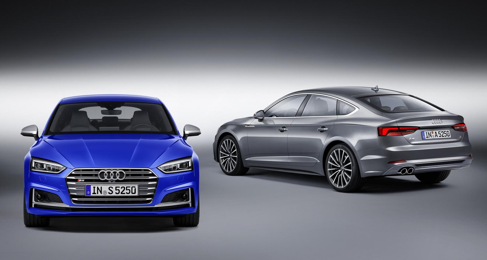 Audi представляет новое поколение A5 Sportback и S5 Sportback