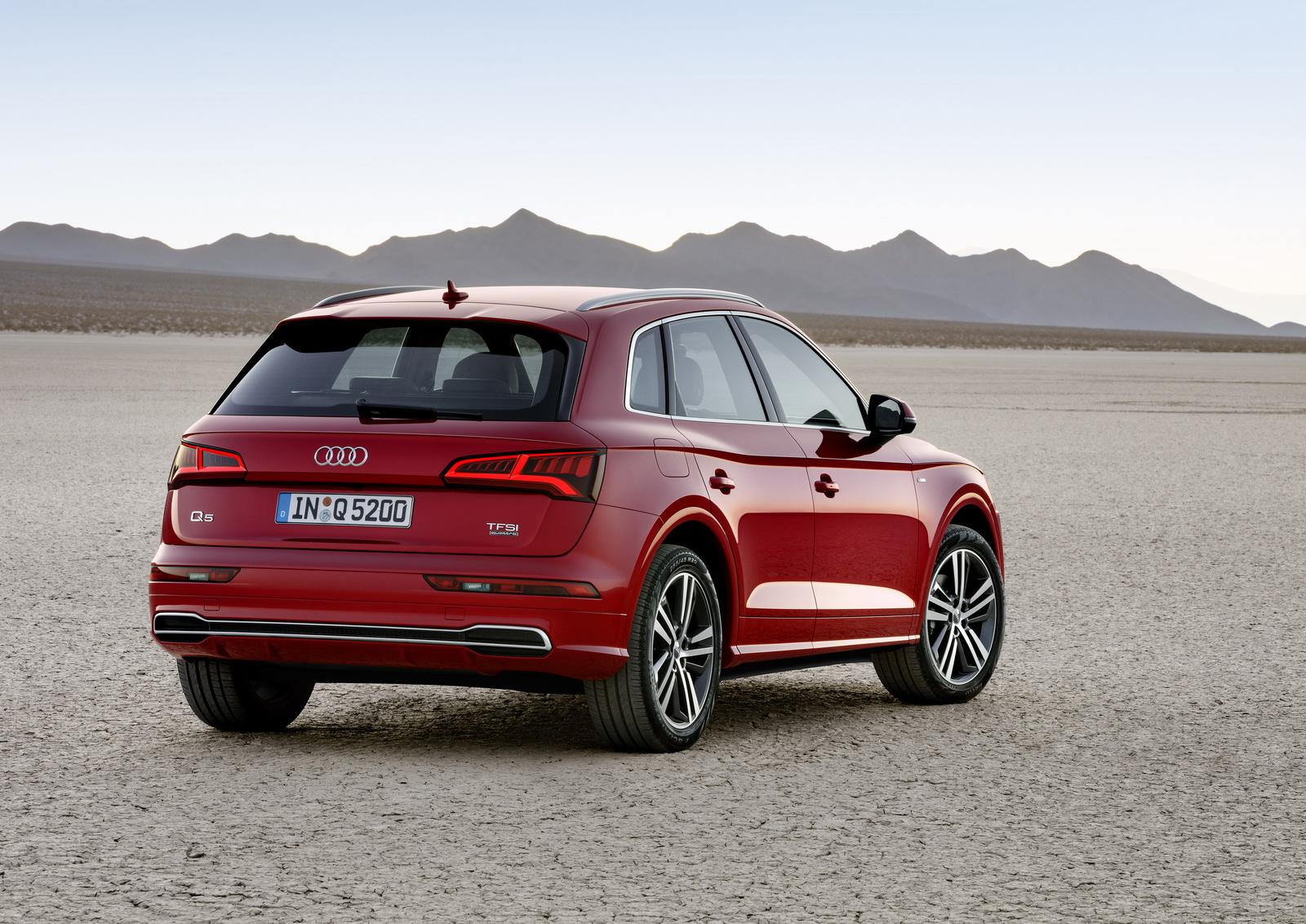 Audi представляет новую модель Audi Q5 второго поколения
