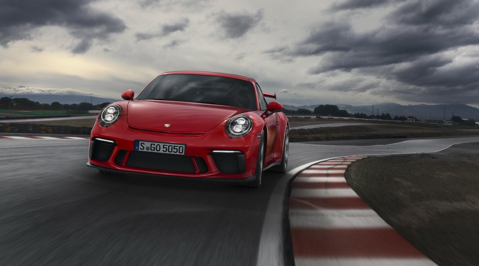 Мировая премьера на Женевском автосалоне: новый Porsche 911 GT3