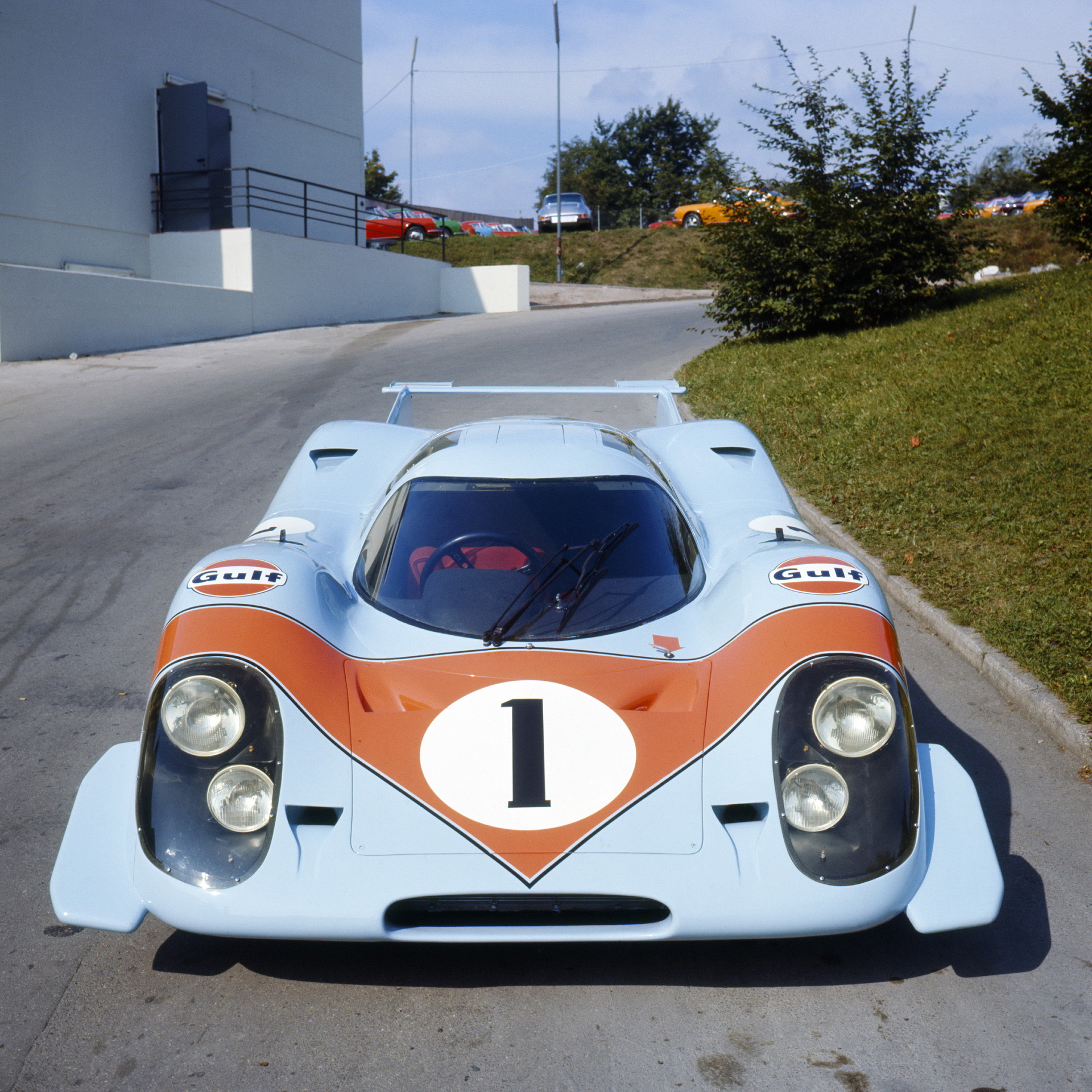 Porsche празднует