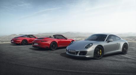 Porsche представляет новое семейство 911 GTS