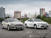 Ford Mondeo и Toyota Camry - конкуренты или представители разных классов?