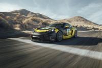 Porsche представляет новый гоночный 718 Cayman GT4 Club-sport