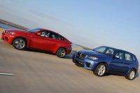 BMW X5М и X6М – кроссоверы-спортсмены