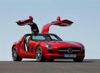 Mercedes-Benz SLS AMG с дверями типа «крыло чайки» выпустят в ограниченном количестве