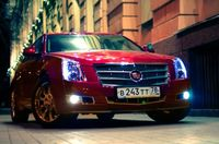 Cadillac CTS: Автомобиль эпохи классицизма