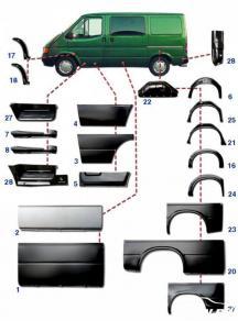 +375299411420 Купить кузовные автозапчасти Форд Транзит