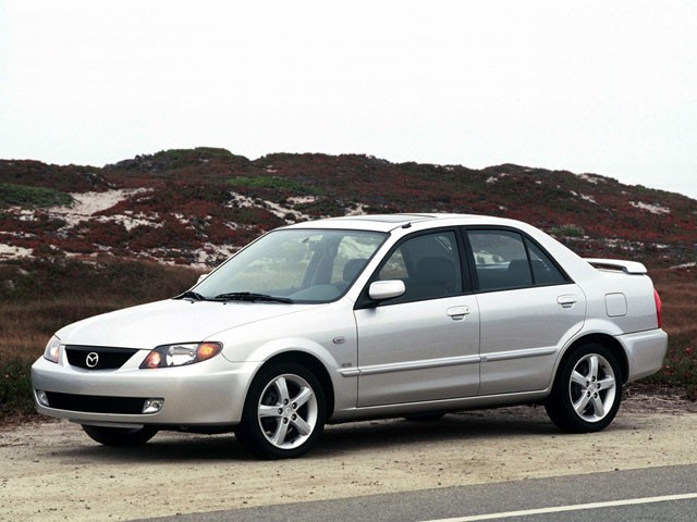 Mazda protege dx фото