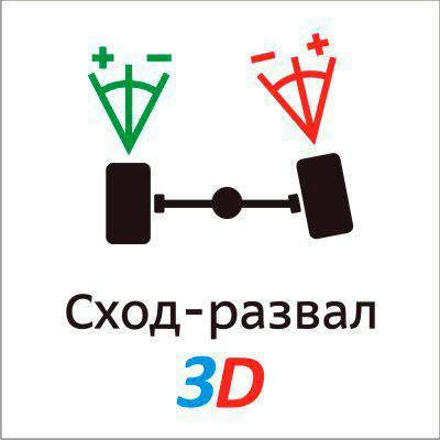 3D Сход-развал