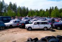 Российские автомобили ушли с аукциона в Финляндии