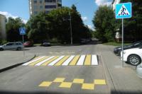 Новые пешеходные переходы появились в Заводском районе столицы