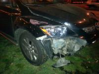 Пьяный водитель врезался в троллейбус с пассажирами