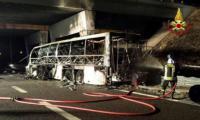 В Италии разбился автобус с детьми: 16 человек погибли