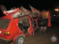 ДТП под Мстиславлем: серьезно пострадали 3 человека