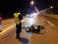 Сезон открыт: на МКАД разбился мотоциклист