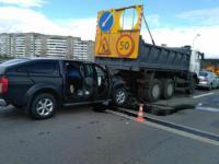 ДТП на МКАДе: серьезно пострадал водитель Nissan