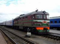 Пассажирский поезд Москва — Гомель столкнулся грузовиком