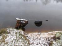 В реке Щара затонул трактор, два человека погибли