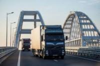 Крымский мост открыт для движения грузового транспорта