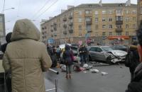 Крупная авария в Минске